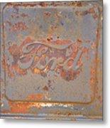 Rusty Ford Metal Print
