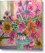 Ruth's Bouquet Metal Print