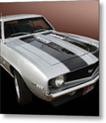 S S Camaro Metal Print by Bill Dutting