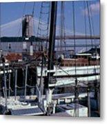 S. Street Seaport Metal Print