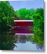 Sachs Covered Bridge - Gettysburg Pa Metal Print