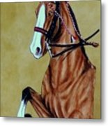 Saddlebred Metal Print