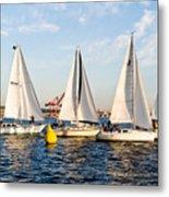 Sail Race Metal Print