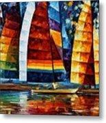 Sail Regatta Metal Print