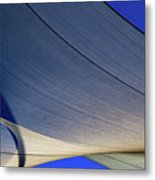 Sailcloth Abstract Times Two Metal Print