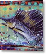Sailfish Metal Print