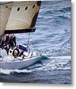 Sailing On The Straits Metal Print