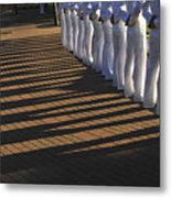 Sailors Stand At Parade Rest Metal Print