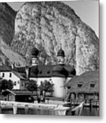 Saint Bartoloma On Konigssee Lake Metal Print