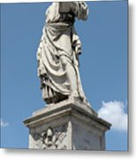 Saint Peter's Statue Metal Print by Fabrizio Ruggeri