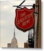 Salvation Army New York Metal Print