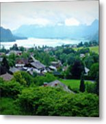 Salzburg Lake District Metal Print
