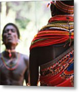 Samburu Tribe Metal Print