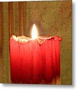 Same Candle New Color Metal Print