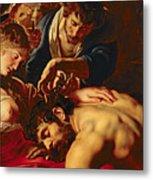 Samson And Delilah Metal Print by Rubens