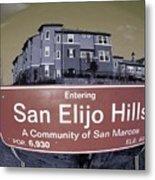 San Elijo Hills Metal Print