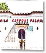 San Felice Circeo School Metal Print