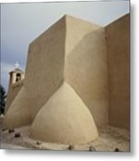 San Francisco De Taos Two Metal Print