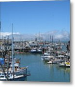 San Francisco Fishing Fleet Metal Print