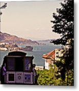 San Francisco Treat Metal Print