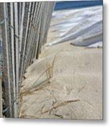 Sand And Snow Metal Print
