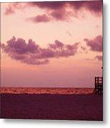 Sand Key Sunset Metal Print