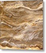 Sandstone Formation Number 3 At Starved Rock State Metal Print