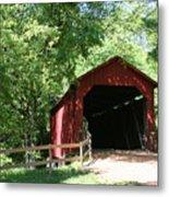Sandy Creek Bridge Metal Print