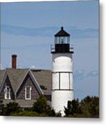 Sandy Neck Light  Barnstable Cape Cod Massachusetts Metal Print