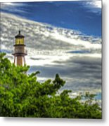Sanibel Island Lighthouse Metal Print