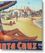 Santa Cruz For Youz Metal Print