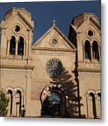 Santa Fe Church Metal Print