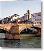 Santa Trinita Bridge Metal Print