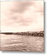 Saugatuck Channel Metal Print