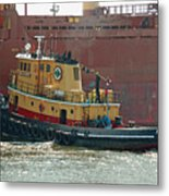 Savannah River Tug Metal Print
