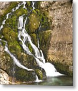 Savica Waterfall Metal Print