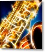 Saxophone 2 Metal Print