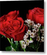 Say It With Flowers Metal Print by Tracy Hall