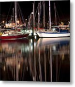 Scarborough Boats Metal Print