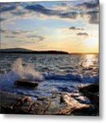 Schoodic Sunset Metal Print