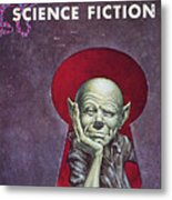 Science Fiction Cover, 1954 Metal Print