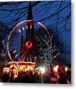Scot Monument Christmas And Hogmanay Fair Scotland Metal Print