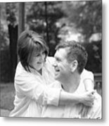 Scott And Sandi Metal Print