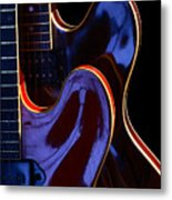 Screaming Guitars Metal Print