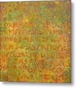 Scripture Metal Print