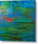 Sea Ligthts Metal Print
