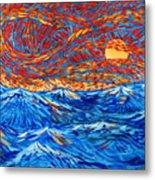Sea Scene Metal Print