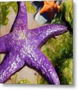 Sea Stars Metal Print