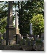 Seacoast Cemetery Metal Print