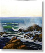 Seascape Study 5 Metal Print